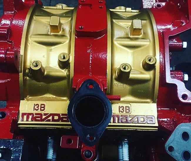 Wankel Motor RX8
