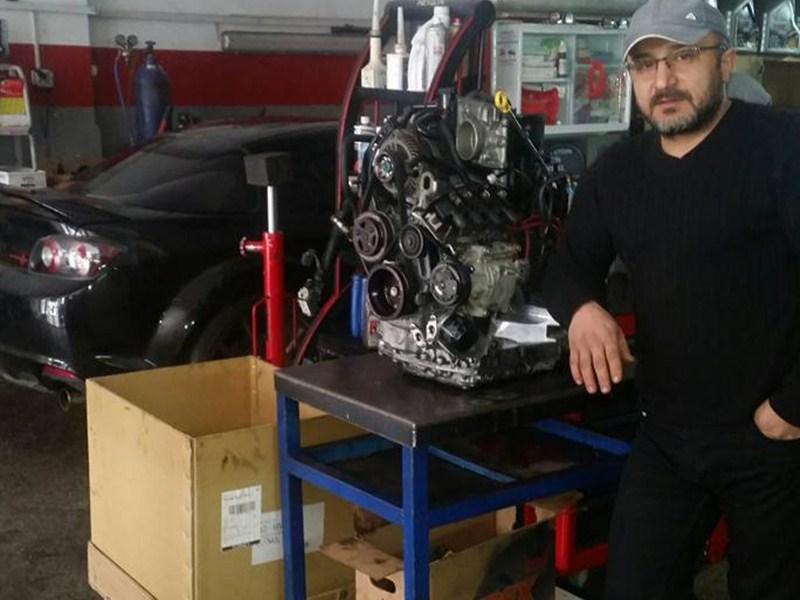 2010 RX-8 R3 Motor Revizyon