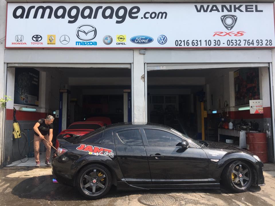 Mazda Rx8 Rektefiye tadilat