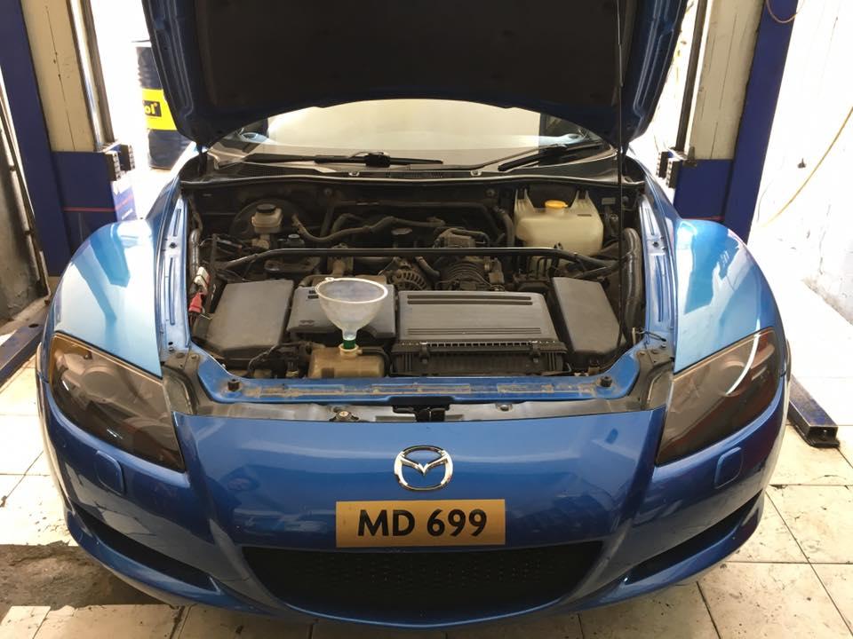 RX8  motor toplama