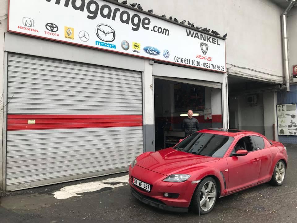 Mazda RX8 Motor Yenileme Servisi