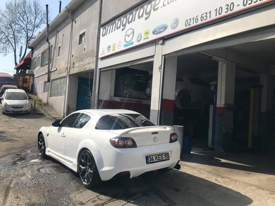 Mazda RX-8 Engine Rebuild Motor Rektefiye