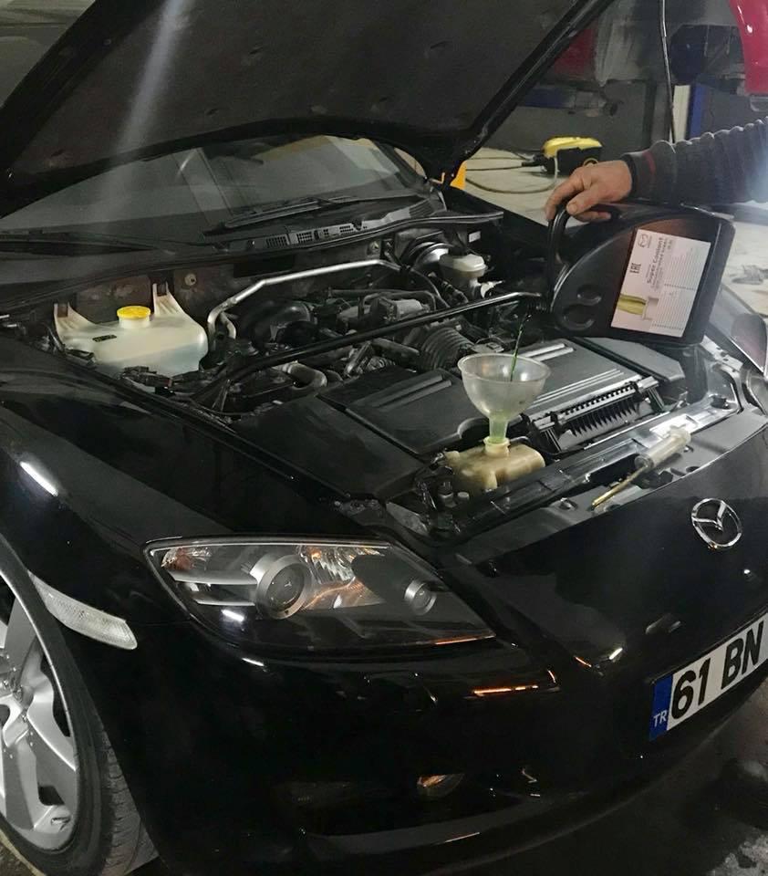 RX8 Motor revizyon merkezi